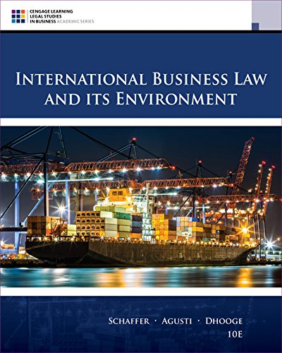 eBookshare Downloads International Business Law and Its Environment (Cengage Learning Legal Studies in Business) iBook