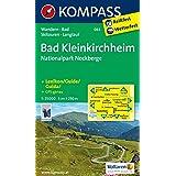 Bad Kleinkirchheim - Nationalpark Nockberge: Wanderkarte mit Kurzführer, Radrouten, Skitouren und Loipen. GPS-genau. 1:25000. Engl. /Dt. /Ital. (KOMPASS-Wanderkarten, Band 63)