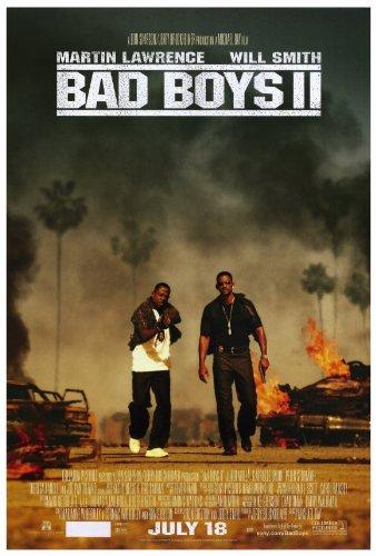 Bad Boys II-Poster Film B, 69 x 102 cm Martin Lawrence Will Smith Gabrielle Union Joe Pantoliano Theresa Randle Tom Hillmann