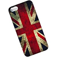 Slim Case for iPhone 5, 5s, SE. Tasche Cover. Union Jack. Flag of the United Kingdom. UK Flag.