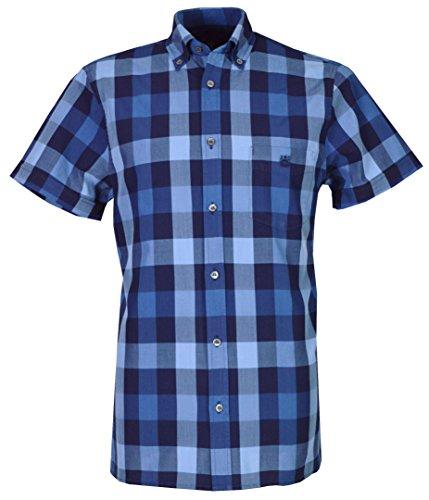 aquascutum-camisa-casual-con-botones-para-hombre-azul-anil-xx-large