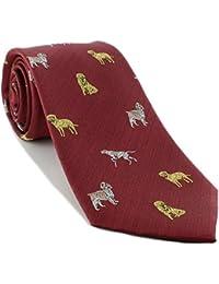Gun Dog Silk Tie