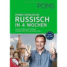 PONS Power-Sprachkurs Russisch: Lernen Sie Russisch mit Buch, 2 Audio+MP3-CDs und Online-Tests