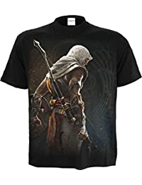 Spiral Men - Origins - BAYEK - Assassins Creed T-Shirt Black