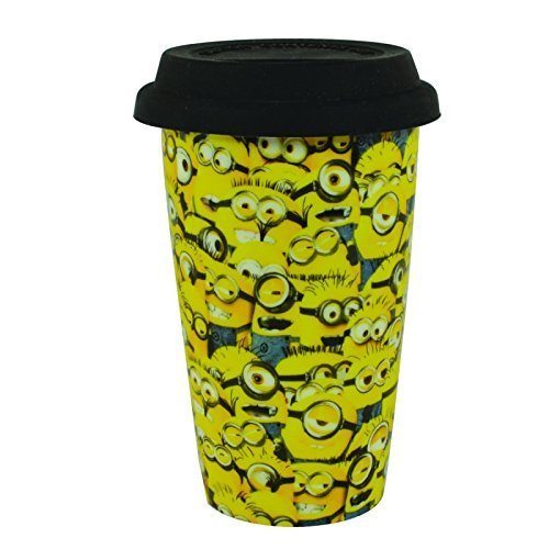 Price comparison product image DESPICABLE ME MINIONS CHILDREN'S CHARACTER TRAVEL MUG 72029