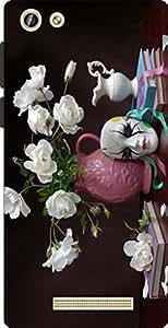 Joe Designer Printed Cover For Gionee F103 Pro Mobile (Multicolor)