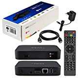 MAG 322w1 Originale Infomir & HB-DIGITAL IPTV SET TOP BOX WLAN (WiFi) Multimedia Player Internet TV IP Receiver HEVC H.256 successore di MAG 254 + HB Digital HDMI Cavo