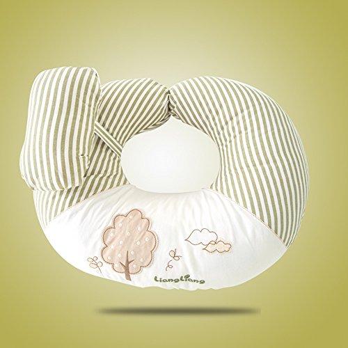 LJHA Femmes Enceintes Oreiller Taille côté dormeur Multi-Fonction Soins Infirmiers Taille Oreiller Oreiller Couleur en Option 70 * 55 cm Oreillers d'allaitement (Couleur : B)