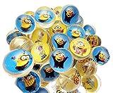 12 x Flummi Dopsball Jet Ball Minions ca. 27 mm