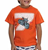 Trmpi Orange T-Shirt for Boys (2-10 Yrs)