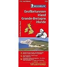Michelin Großbritannien / Irland: Straßen- und Tourismuskarte (MICHELIN Nationalkarten)