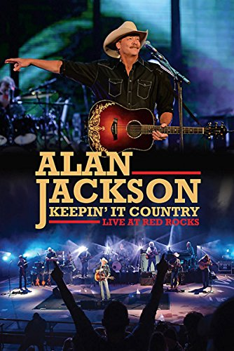 Alan Jackson - Keepin' It Country: Live AT The Red Rocks (Rocks Dvd Red)