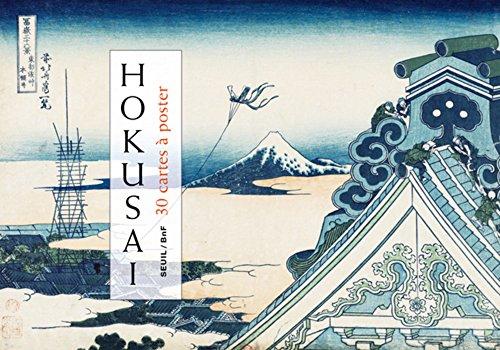 Hokusai : 30 cartes à poster par Katsushika Hokusai