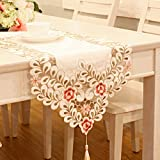 Best 85 Inch Tvs - Simple Fashion Openwork Embroidery Table Runner Table Cloth Review