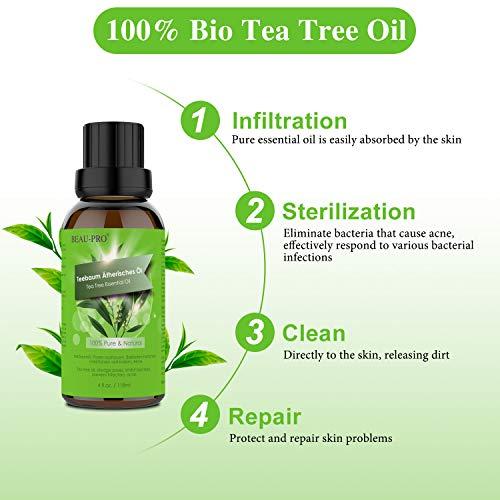 Zoom IMG-1 tea tree oil olio puro
