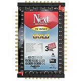 Multischalter - Next YE 10/32 s [PMSE 9/32 + Extra] mit Gold-Kontakten inkl. Netzteil Full HD, 4K tauglich