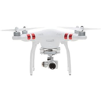 DJI Drone Phantom 3 Standard con Videocamera 12 MP/2,7K, Bianco