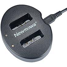 Newmowa USB Cargador Doble para Canon NB-13L Canon PowerShot G5X PowerShot G7X PowerShot G9X PowerShot G9 X Mark II PowerShot G1 X Mark III