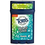 Colossy Tom's Of Maine Wicked Cool Deodorant For Boys Freestyle 2.25 Oz