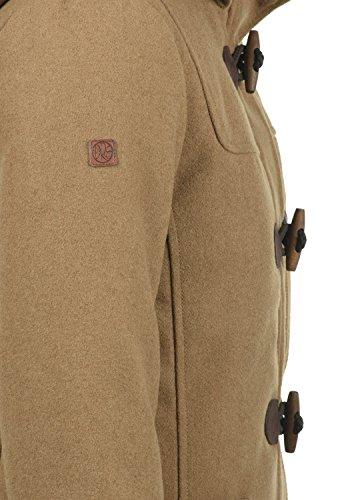 DESIRES Penna Damen Winter Jacke Parka Mantel Dufflecoat mit Stehkragen und Kapuze, Größe:S, Farbe:Sepia (5075) - 5