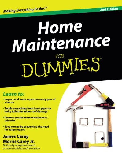 Home Maintenance For Dummies, 2nd Edition (For Dummies Series) -