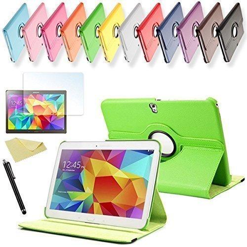 SVS 3in1 SET Tab S 10.5 360° Schutzhülle + Folie + Pen Samsung Galaxy Tab S SM-T800 / T801 / T805 Tasche Etui (Grün)