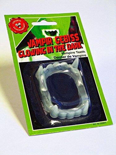 Vampir-Gebiss floureszierend (Fest Kostüme Freak)
