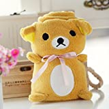 Baby Fleece Blanket - Golden Bear