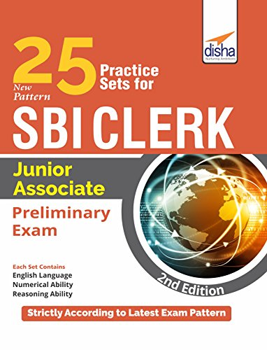 25 Practice Sets for New Pattern SBI Clerk Junior Associate Preliminary Exam