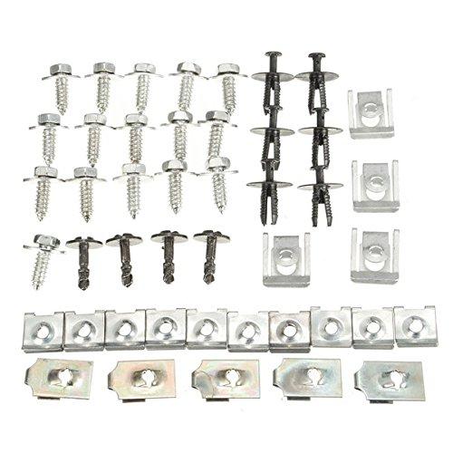yongse-44x-teile-motor-under-cover-spritzschutz-unterboden-schraube-trim-clips-fur-bmw-e46
