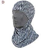 Blue-Yan Antirutsch Maske Windschutz Maske für Winter Winterstiefel Rutschfeste Windmaske für Männer und Frauen #04#