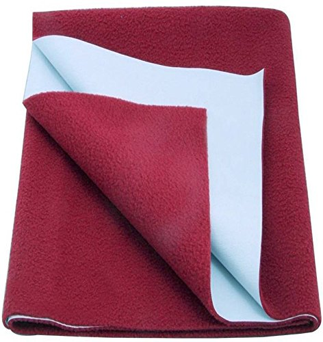Excellent-Dry-Waterproof-Bed-Protector-Large-Maroon