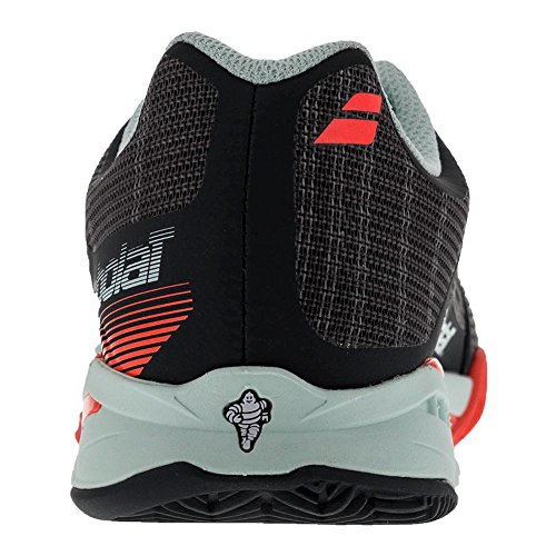 Babolat  31s17688, Chaussures spécial tennis pour femme gris gris ROUGE GRIS