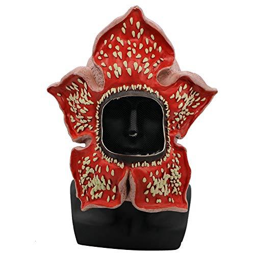 Hffan Halloween Maske Horror Kannibalen Blumenmaske Cosplay Latex Helm Maske Gesicht Erwachsene Kinder Latex Kostüm Narbe Party Kostüm Gesichtsmaske Cosplay Karneval Kopfmask -