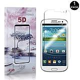 Bear Village Galaxy S3 Vetro Temperato 0.26mm, HD Trasparente, 9H Durezza, 3D Touch Pellicola Protettiva in Vetro Temperato per Samsung Galaxy S3-1 pezzi