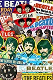 The beatles: notebook with 100 lined pages, 6x9''