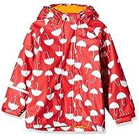 CareTec Kids Rain Jacket with Fleece Lining, (Red 402), 116