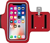 Antber Brassard iPhone XS Max en néoprène antisueur antidérapant Brassard Sport...