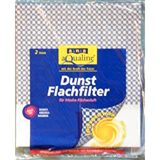 ( 1,50EUR/Stueck)2x Dunstfilter (Flachfilter) 50x57cm für Dunstabzugshauben