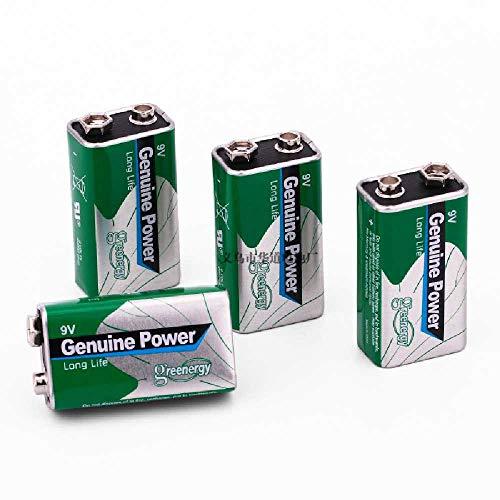 HUAHUA Batería Alcalina De 9 Voltios Doméstica De La Industria Paquete De 10 9V