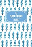 San Diego You Are Here: Gift Journal Lined Notebook To Write In