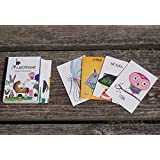 RUSSIAN FLASH CARDS FOR TODDLERS RUSSIAN LANGUAGE ANIMALS IN RUSSIAN