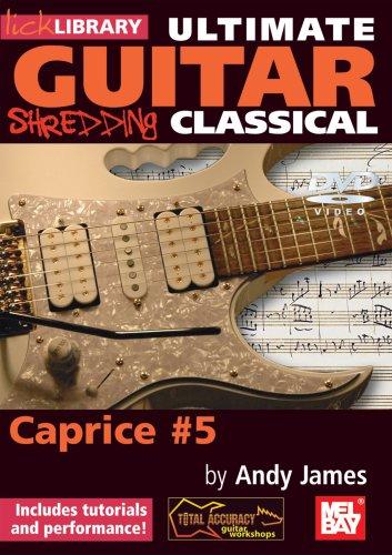 Lick Library: Ultimate Guitar Techniques Shredding Classical - Caprice No.5 [UK Import]