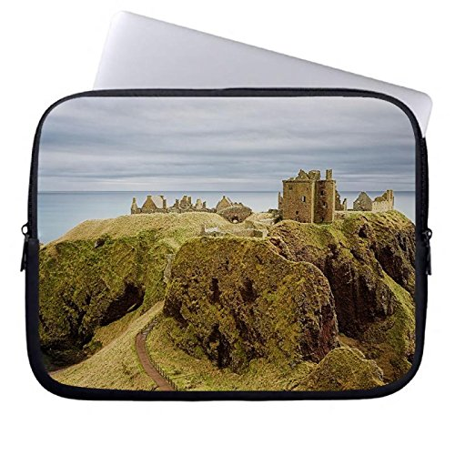 hugpillows-laptop-sleeve-bag-dunnottar-castle-stonehaven-notebook-sleeve-cases-with-zipper-for-macbo