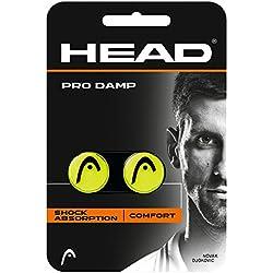 Head Pro Damp Antivibrador de Tenis, Amarillo, Única