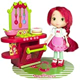 "Strawberry Shortcake / Tarta de Fresa - Berry Cafe - incl. 6"" Strawberry Shortcake Doll & accessories"