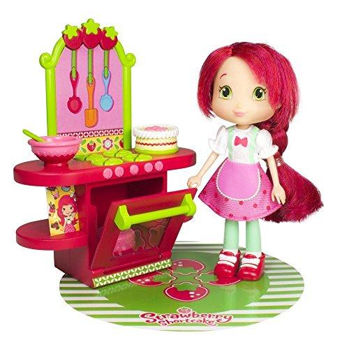 Emily Erdbeer / Strawberry Shortcake - Berry Cafe - mit ca. 15cm Emily Erdbeer Puppe und Zubehör (Erdbeer-zubehör)