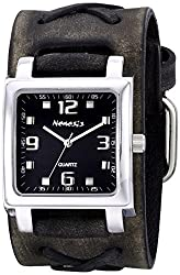 Nemesis Unisex 516FXB-K Lite SQ Series Analog Display Japanese Quartz Grey Watch