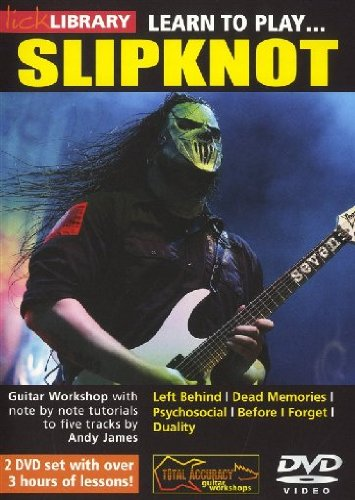 Lick Library: Learn To Play Slipknot [Edizione: Regno Unito]