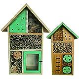 Heritage Fix On Natural Bamboo Wooden Green Insect Hotel Nest Home Bee Keeping Habitat Gardens Bug Bees Garden Butterflies Ladybird Ladybug Box Hotel